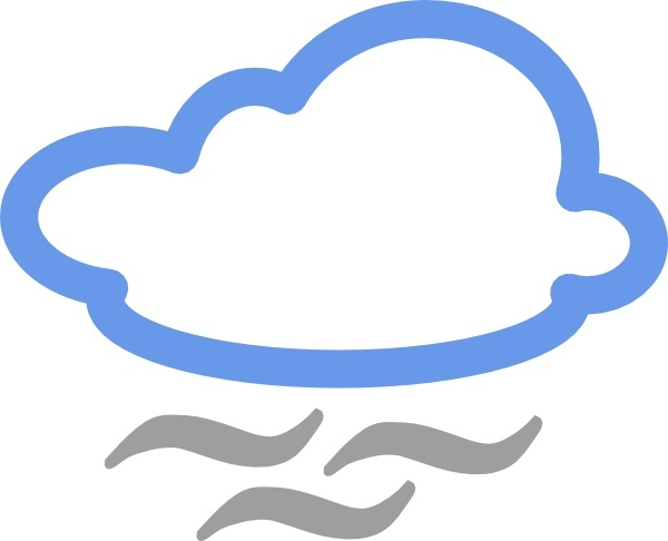 600x486 Cloudy Weather Symbols Clip Art Free Vector In Open Office Drawing