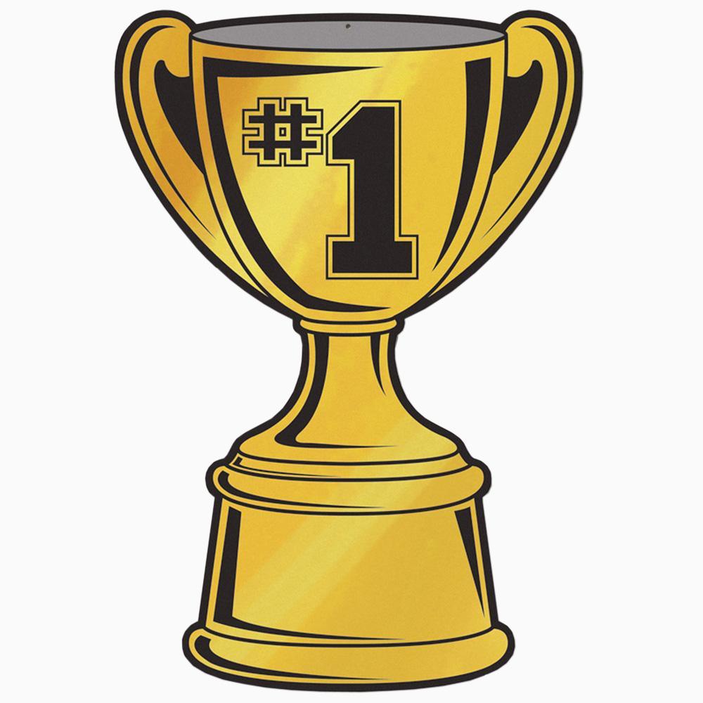 1000x1000 1st Place Trophy Clipart