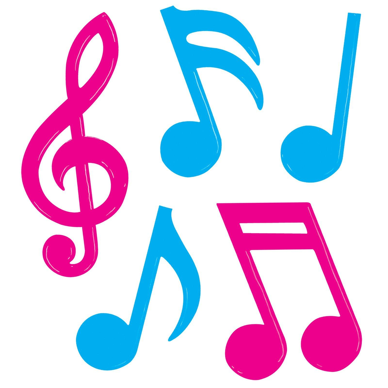 1600x1600 Color Music Notes Clipart