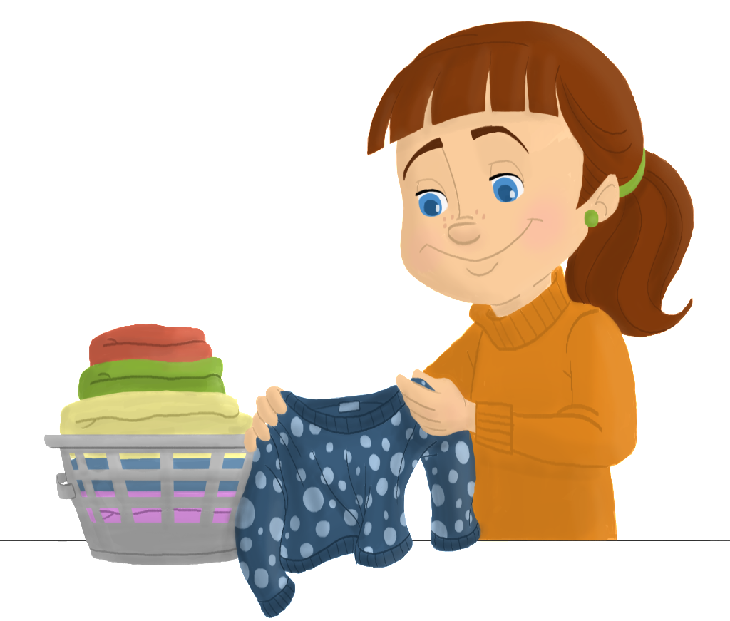 1024x871 Folded Laundry Clipart Ero Electronic Cleaning Clipart