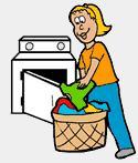 125x147 Free Laundry Clipart