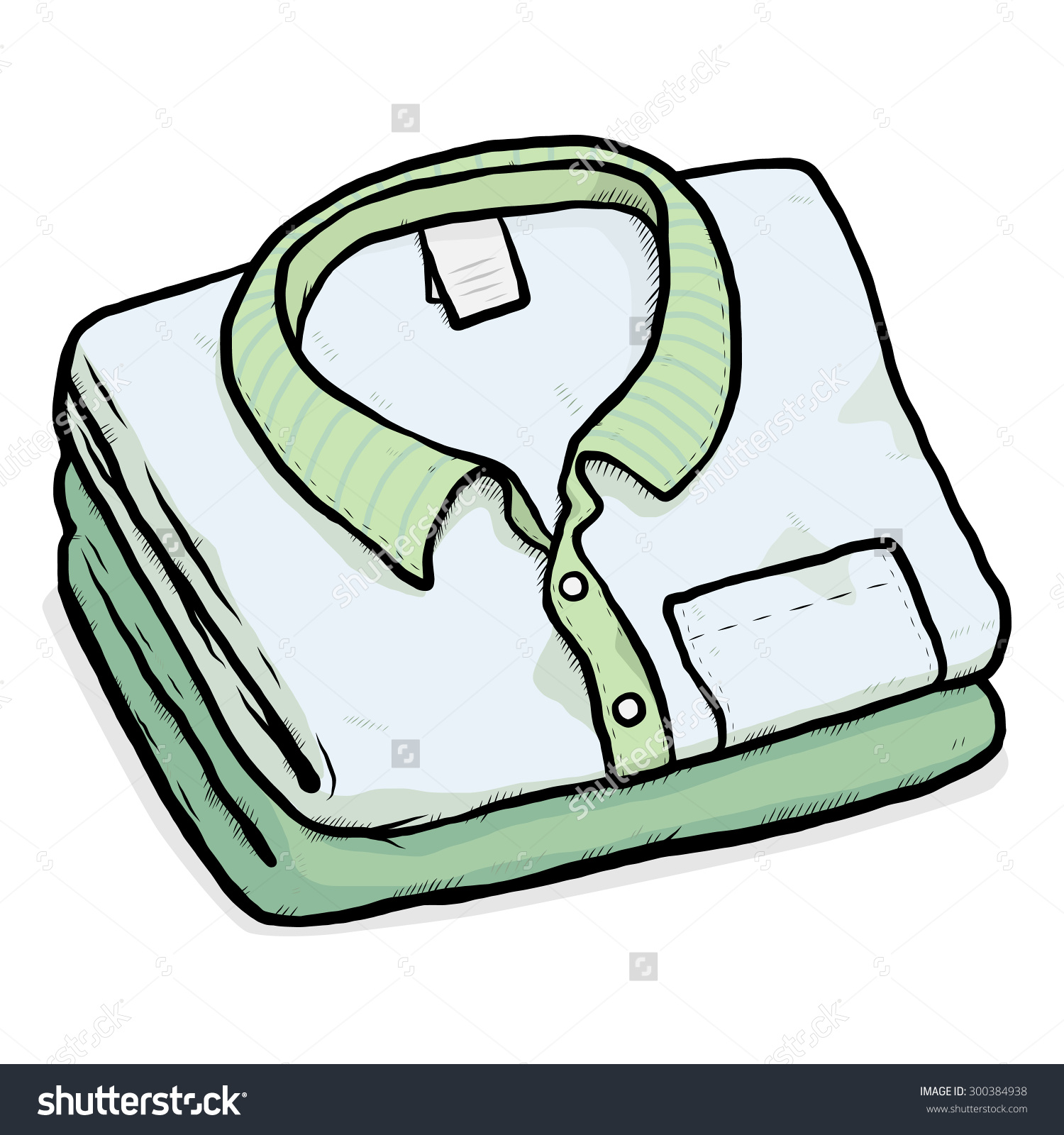 1500x1600 Folded Clothes Clipart