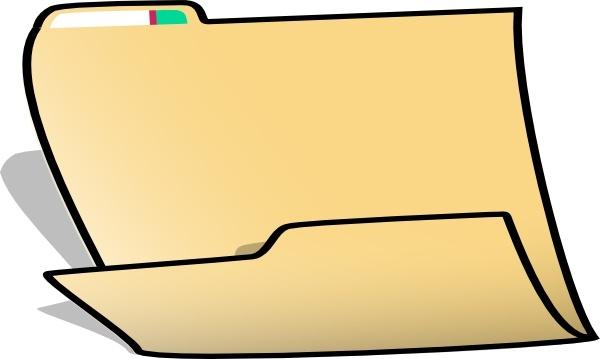 600x359 Fancy Folder Clip Art Free Vector In Open Office Drawing Svg