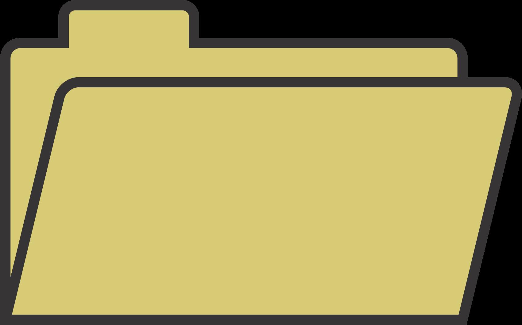 1701x1060 File Folder Open Clipart
