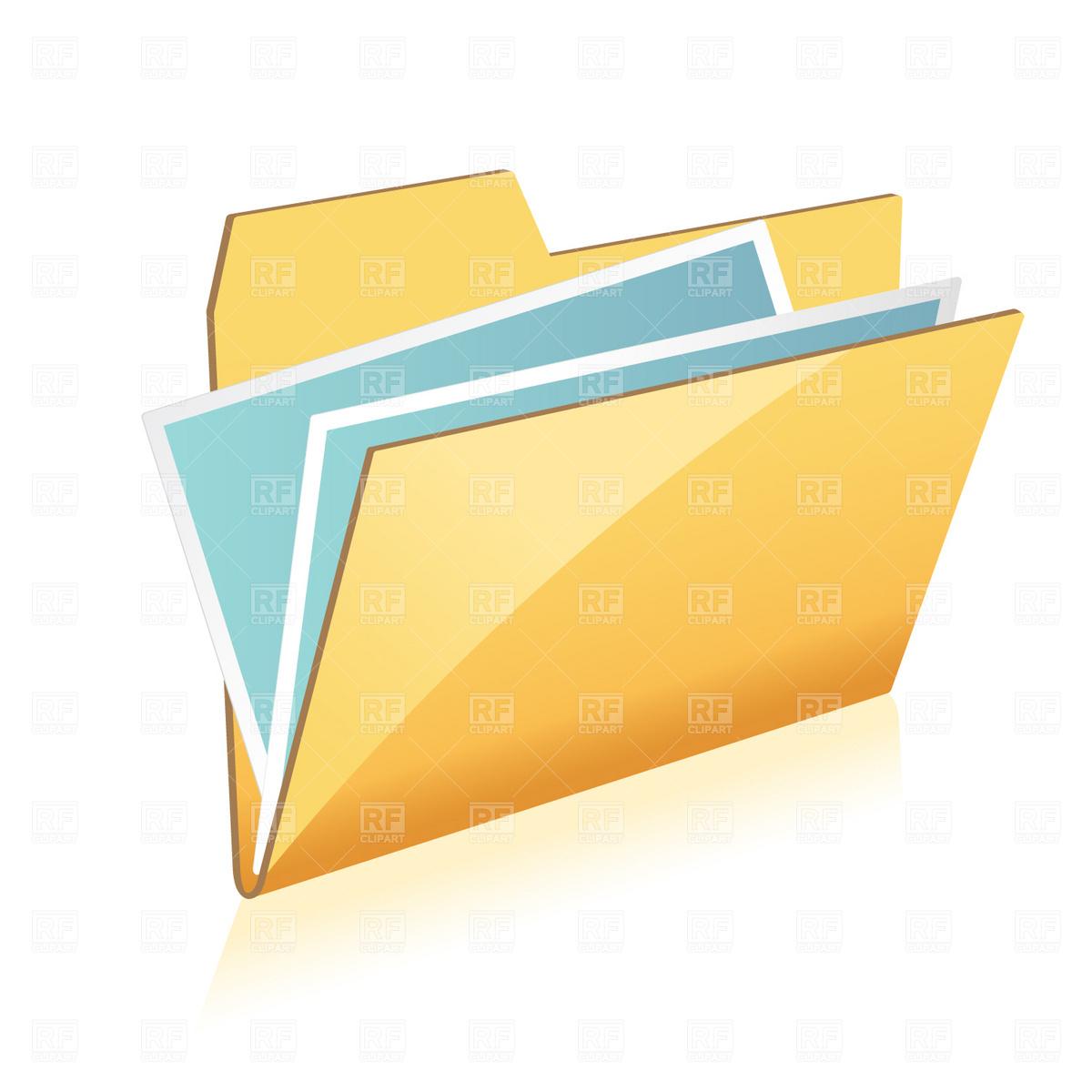 1200x1200 Folder Icon Royalty Free Vector Clip Art Image