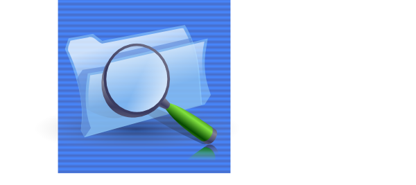 600x267 Search Folders Icon Clip Art Free Vector 4vector