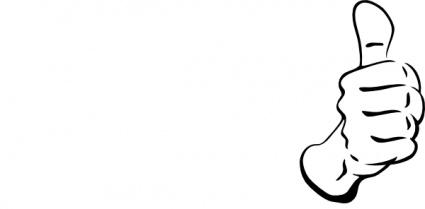 425x209 Thumb Up Clip Art Vector Clipart Panda