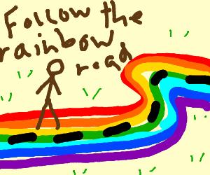 300x250 Rainbow Road