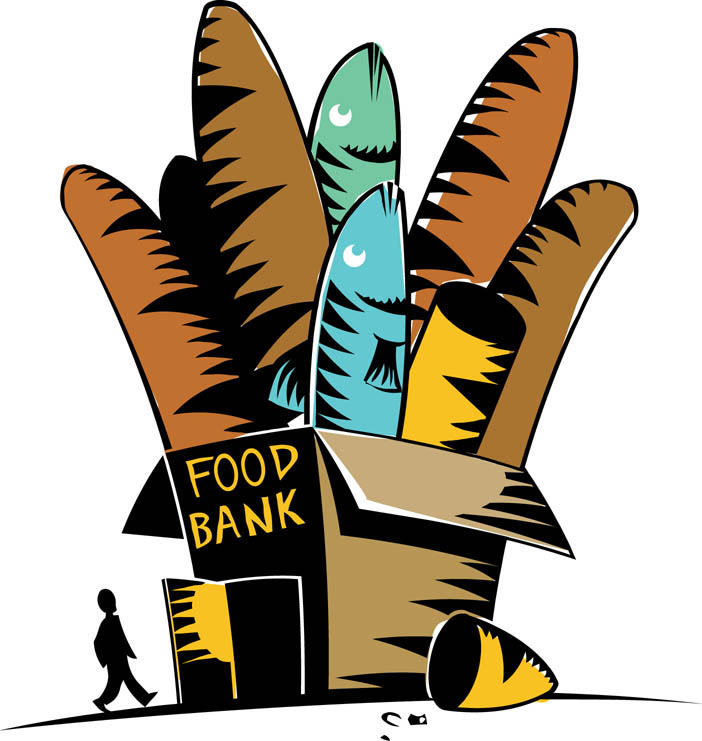 702x741 Clipart For Food Bank