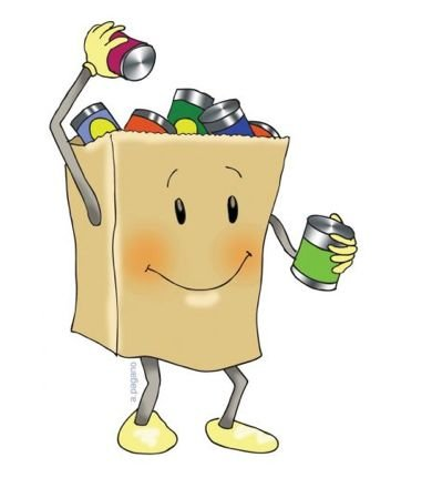 390x440 New Food Bank Clipart