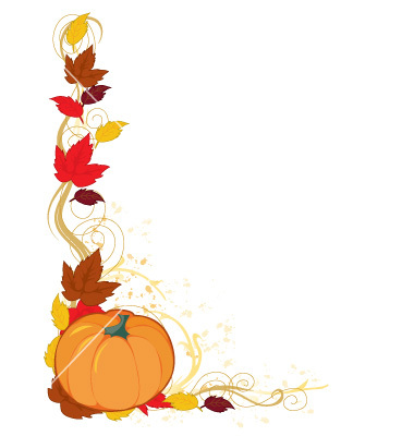 380x400 Free Thanksgiving Clip Art Borders