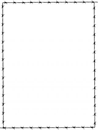 320x425 Simple Border Frames Clip Art