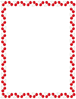 250x324 Free Food Borders Clip Art, Page Borders, And Vector Graphics