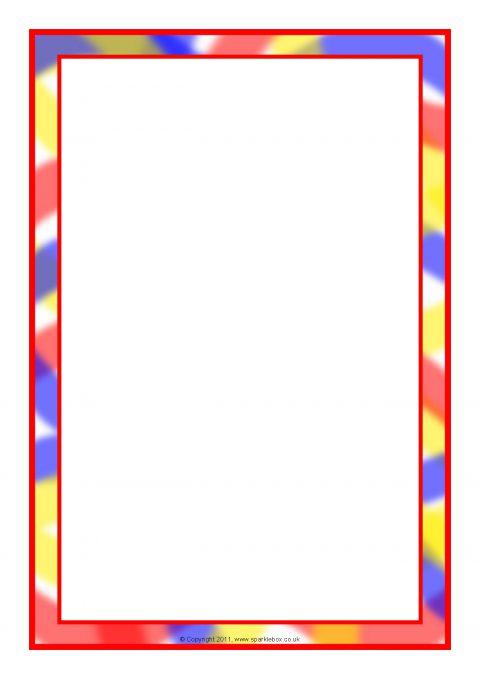 480x679 Writing Frames And Printable Page Borders Ks1 Amp Ks2