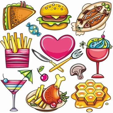 368x368 Fast Food Border Clip Art Clipart Collection