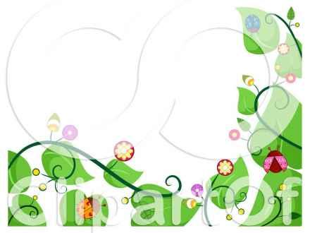 440x330 Free Food Page Border Clip Art, Vegetable Garden Clip Art Border