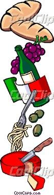 106x383 Italian Clip Art Borders Clipart