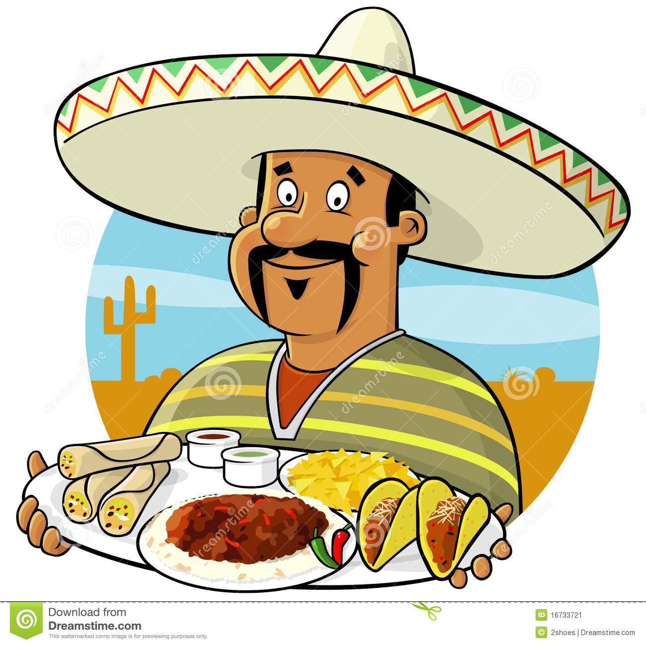 1300x1300 Mexican Cartoon Clipart