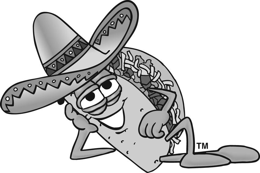 850x564 Food Clipart With Taco Clip Art Taco Clip Art Taco Man Taco Image