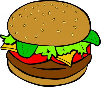 425x368 Free Clipart Food