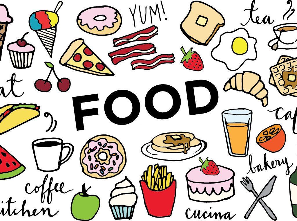 1024x761 Neat Design Clipart Food Free Clip Art Clipartix