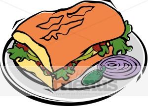300x216 Torta Clip Art Mexican Food Clipart