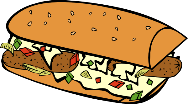 600x334 Fast Food Breakfast Ff Menu Clip Art