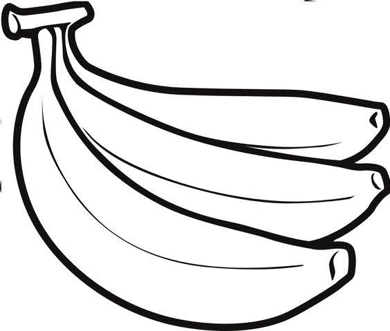 564x479 Food Clipart Black And White