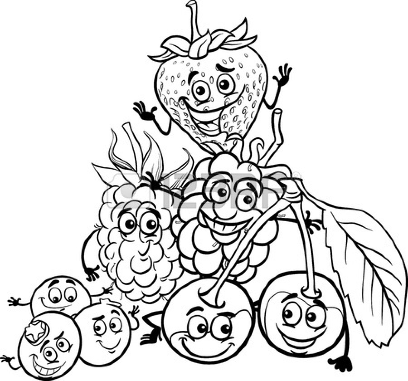 1350x1260 Fruit black and white fruit clip art black and white clipart 2