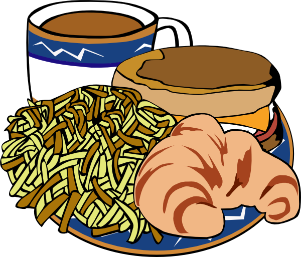 600x513 Food Clipart Free Breakfast