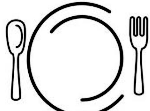 481x355 Food Plate Clip Art Clipart
