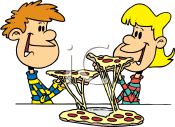350x254 Free Pizza Clip Art Food Clipart