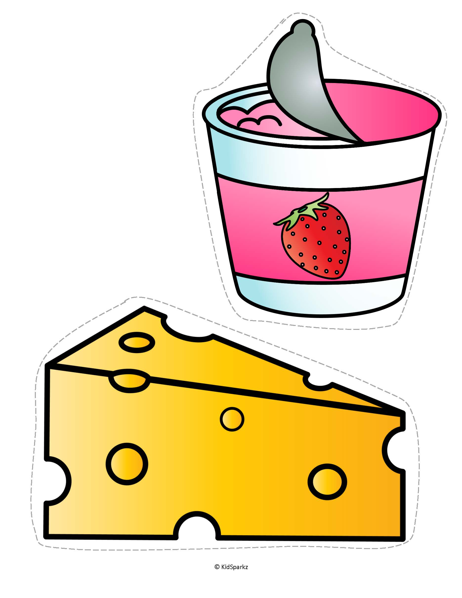 1870x2420 Dairy Food Group Clip Art Clipart
