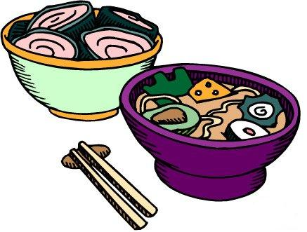 437x331 Chinese Food Clip Art Image