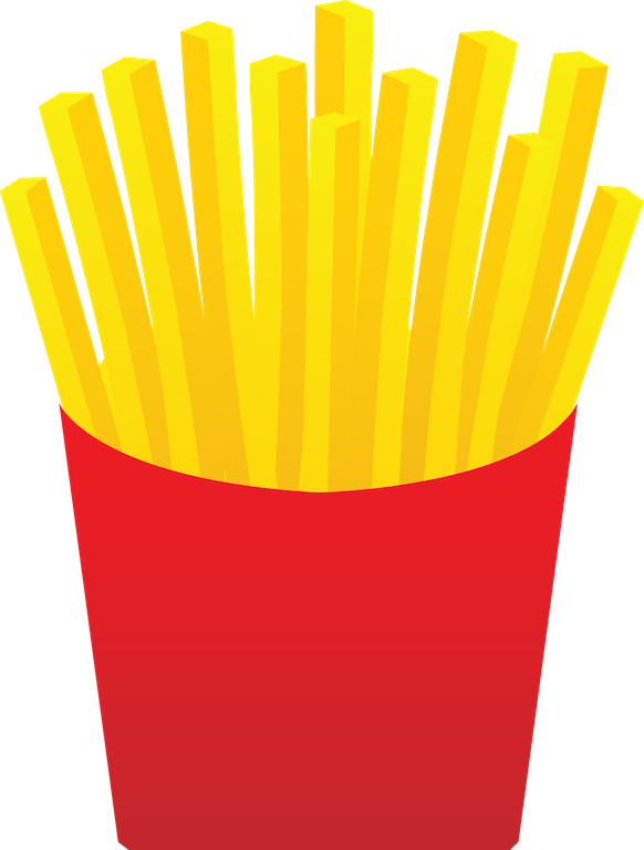 582x768 French Fries Food Clipart, Explore Pictures