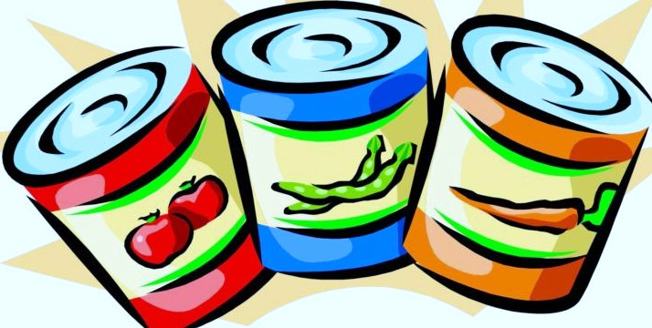 714x360 Canned Food Drive Posters Free Clipart Images
