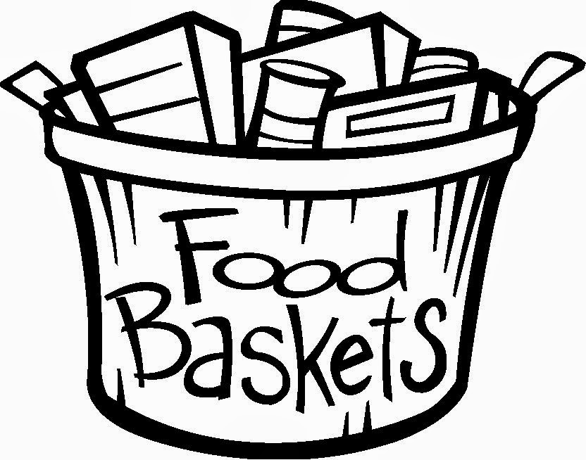 832x654 Food Drive Clip Art Black And White Clipart