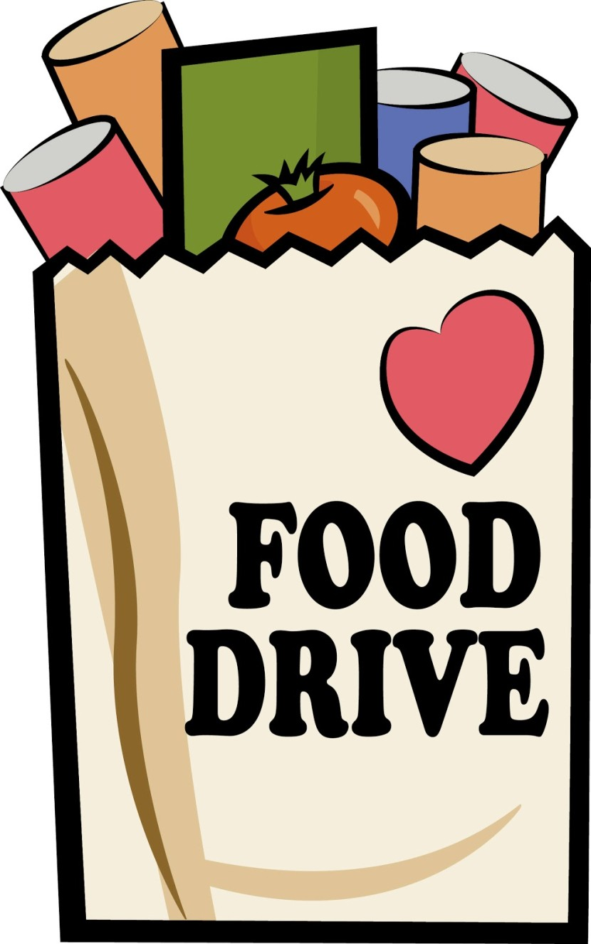 830x1325 Food Drive Clip Art