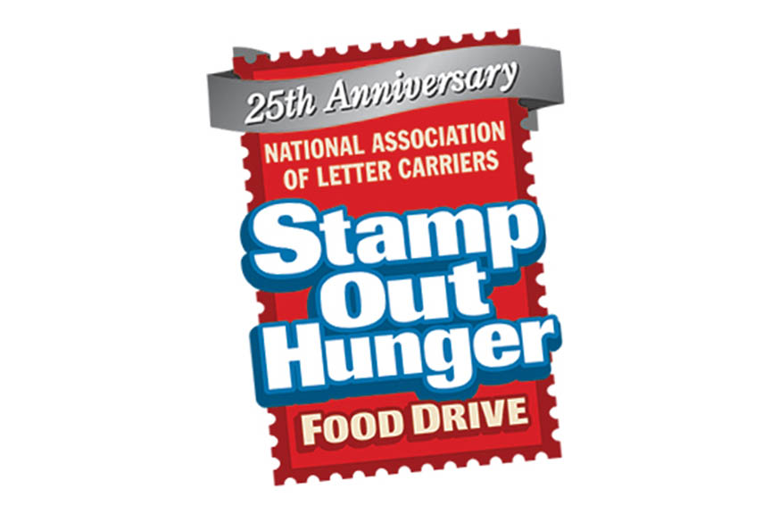 864x576 Letter Carriers' Stamp Out Hunger Food Drive