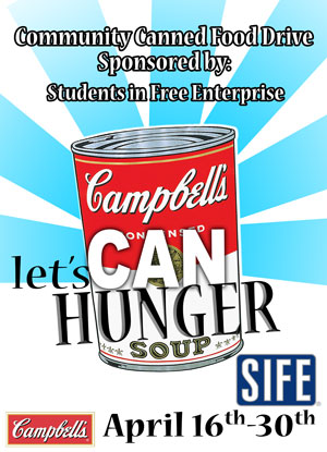 300x415 Penn College Students Set Ambitious Goal For Canned Food Drive