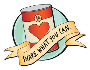 300x233 Canned Food Drive Clip Art