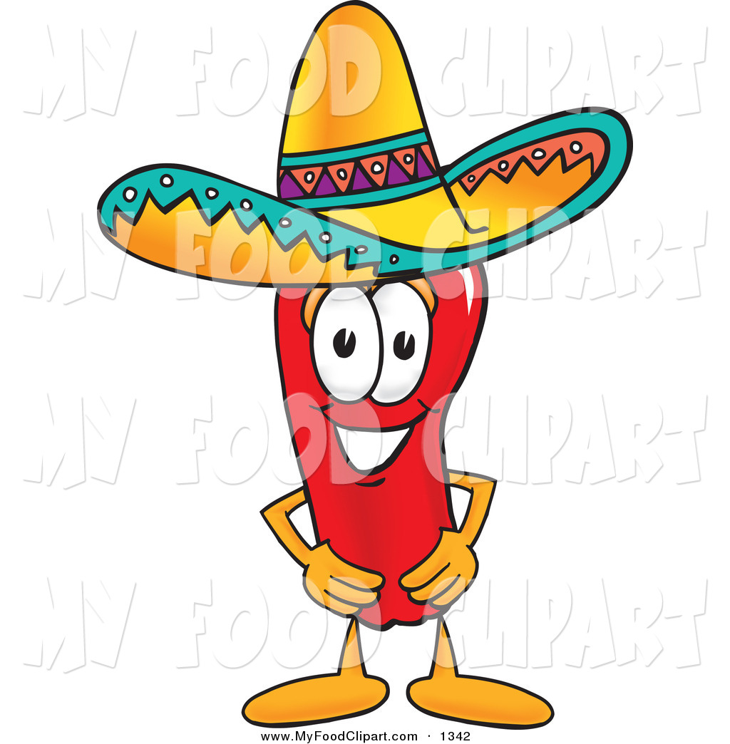 1024x1044 Food Clip Art Of A Mexican Chili Pepper Mascot Cartoon Character