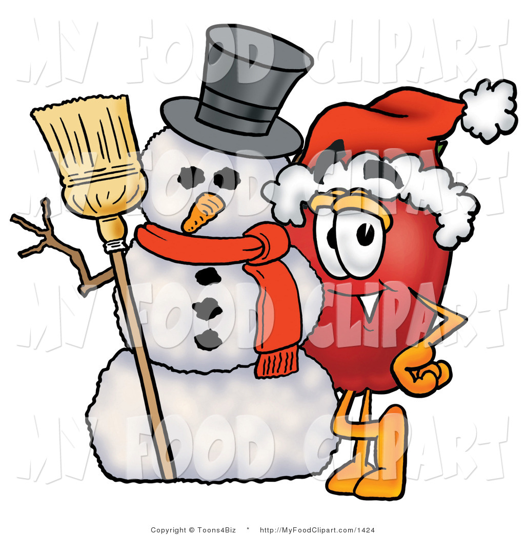 1024x1044 Winter Food Clipart