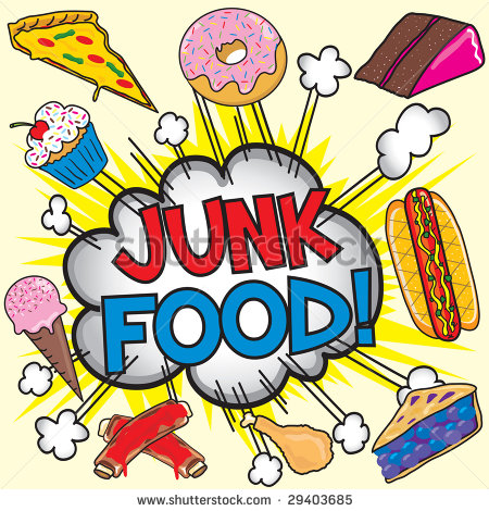 450x470 Snack Food Clip Art