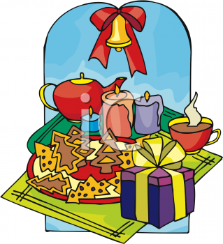 319x350 Christmas Clipart Food Free