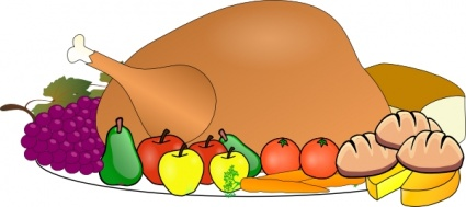 425x189 Food Clipart Free Download