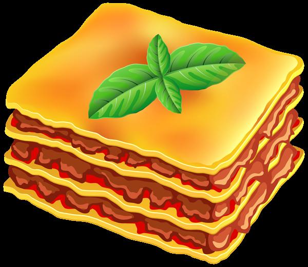 600x521 Food Clipart Lasagna
