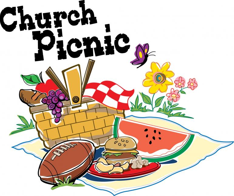 771x644 Free Clipart Of Picnic Food