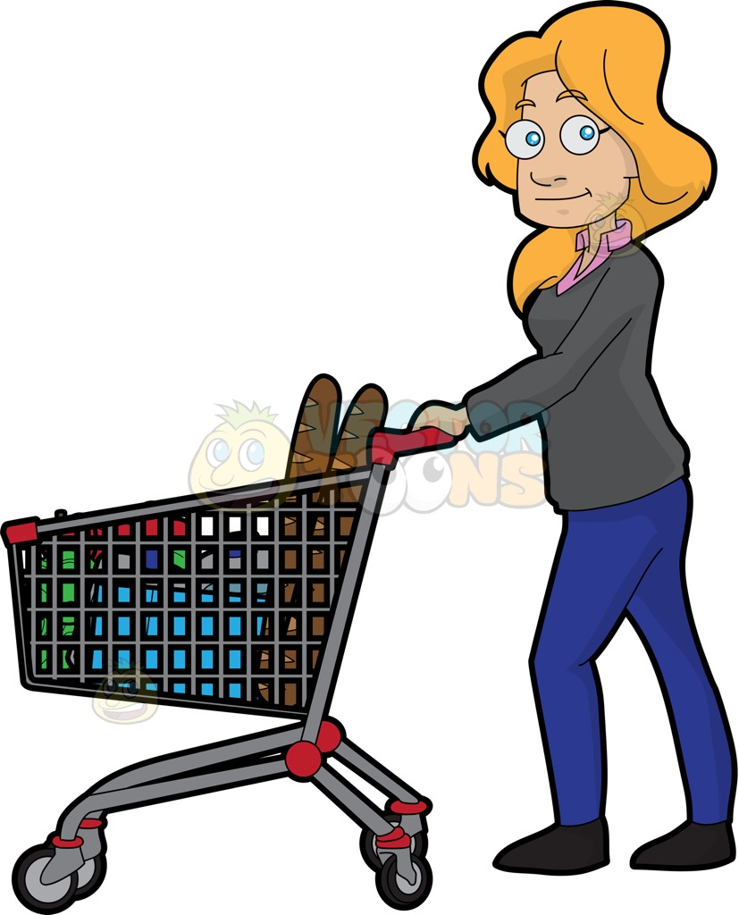 827x1024 Cart Clipart Grocery Store