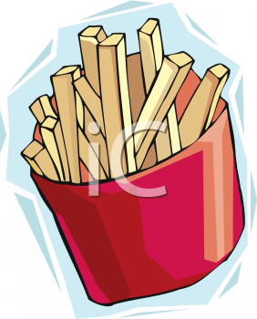 282x350 French Fries Clipart Food